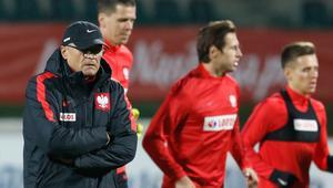 Trening Reprezentacji Polski przed meczem z Urugwajem