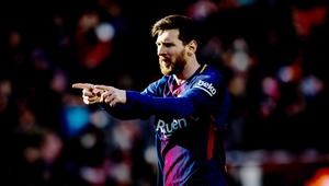 FOOTBALL - SPANISH CHAMP - FC BARCELONA v CELTA VIGO