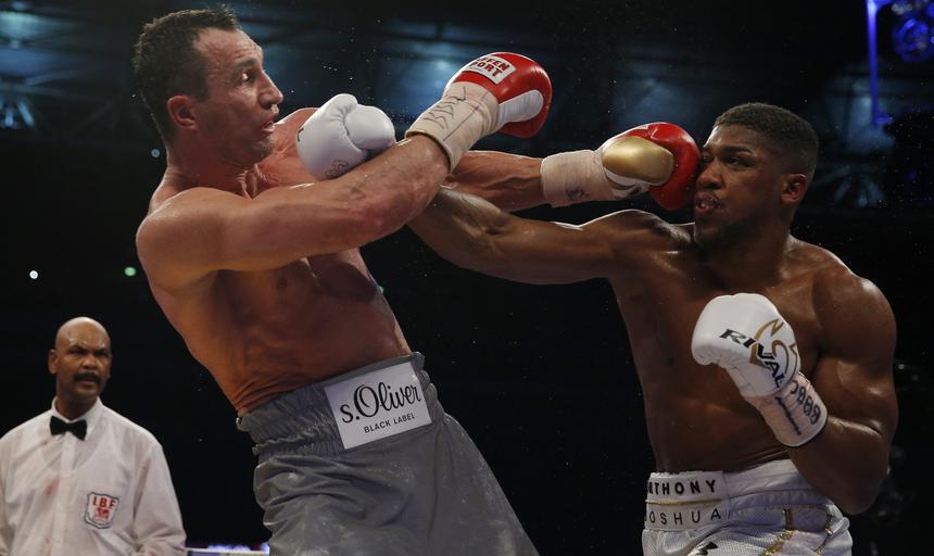 Anthony Joshua vs Wladimir Kliczko