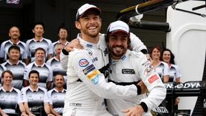 Button and Alonso