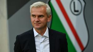 Trener Legii Jacek Magiera