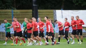 Pierwszy trening GKS Tychy