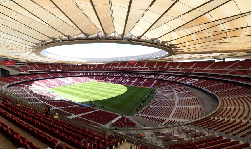 Wanda Metropolitano stadion widok