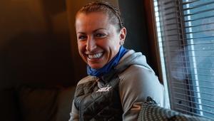 Justyna Kowalczyk trening w Kuusamo