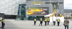 Finał LE w cieniu zamachu. Czy w Sztokholmie będzie bezpiecznie?