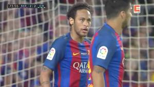 Barcelona - Eibar 4:2. Duma Katalonii bez mistrzostwa