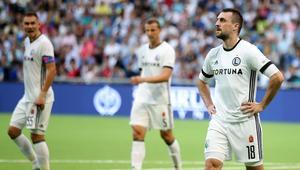Pilka nozna. Liga Mistrzow. FK Astana - Legia Warszawa. 26.07.2017