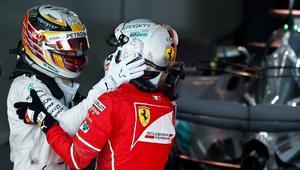 Sebastian Vettel i Lewis Hamilton