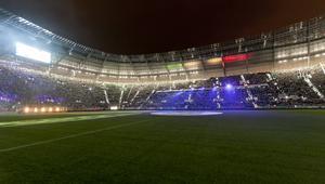 Wrocław, stadion, widok