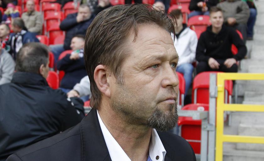 Pilka nozna. Nice I liga. GKS Tychy - Sandecja Nowy Sacz. 05.04.2017