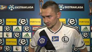 Jędrzejczyk po meczu z Wisłą Kraków