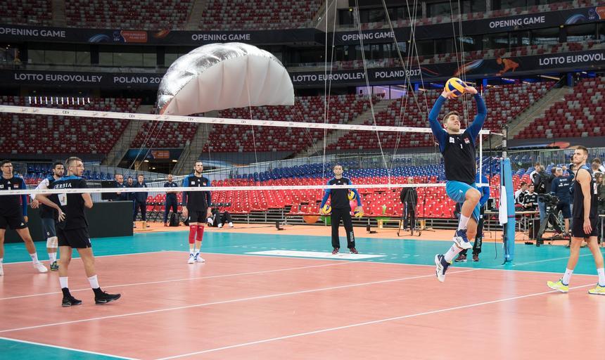Mistrzostwa europy. Lotto Eurovolley Poland 2017. Pilka siatkowa mezczyzn. Warszawa 2017.08.23