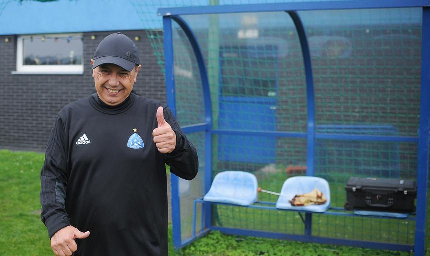 Juan Ramon Rocha Pierwszy trening