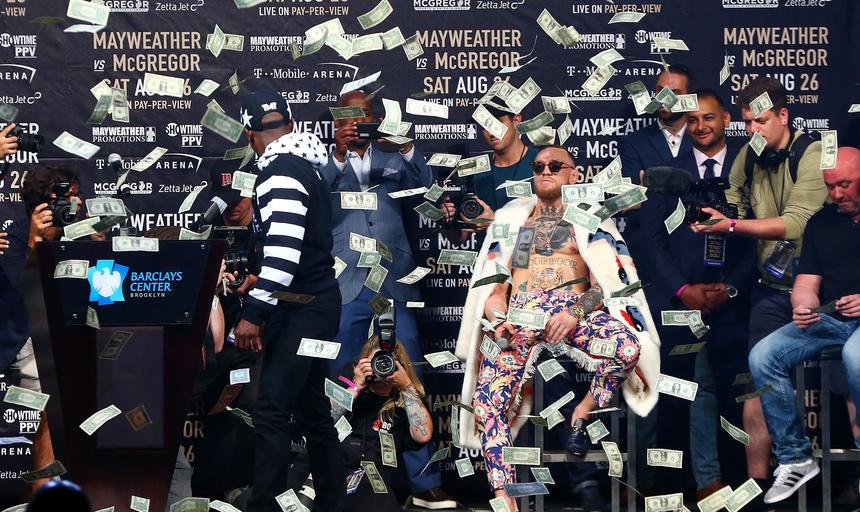 Floyd Mayweather & Conor McGregor Press Conference