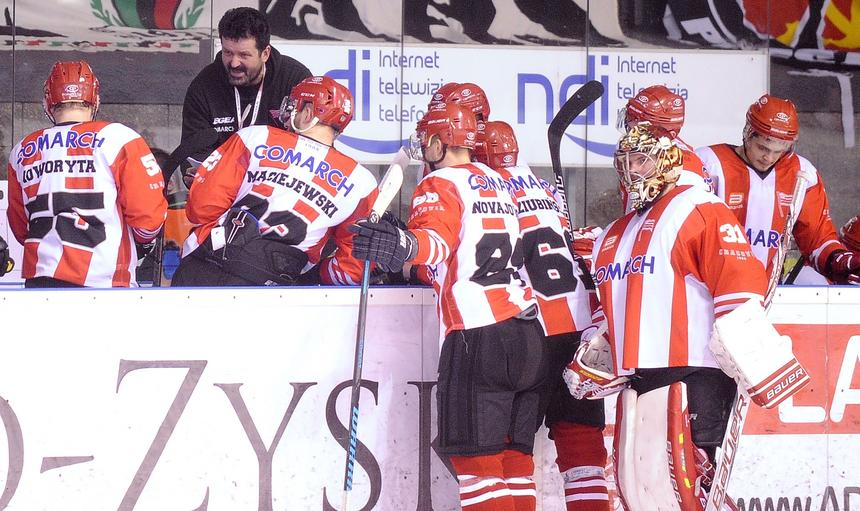 Liga Mistrzów pokazuje, jak wiele jeszcze nauki przed hokeistami Cracovii.