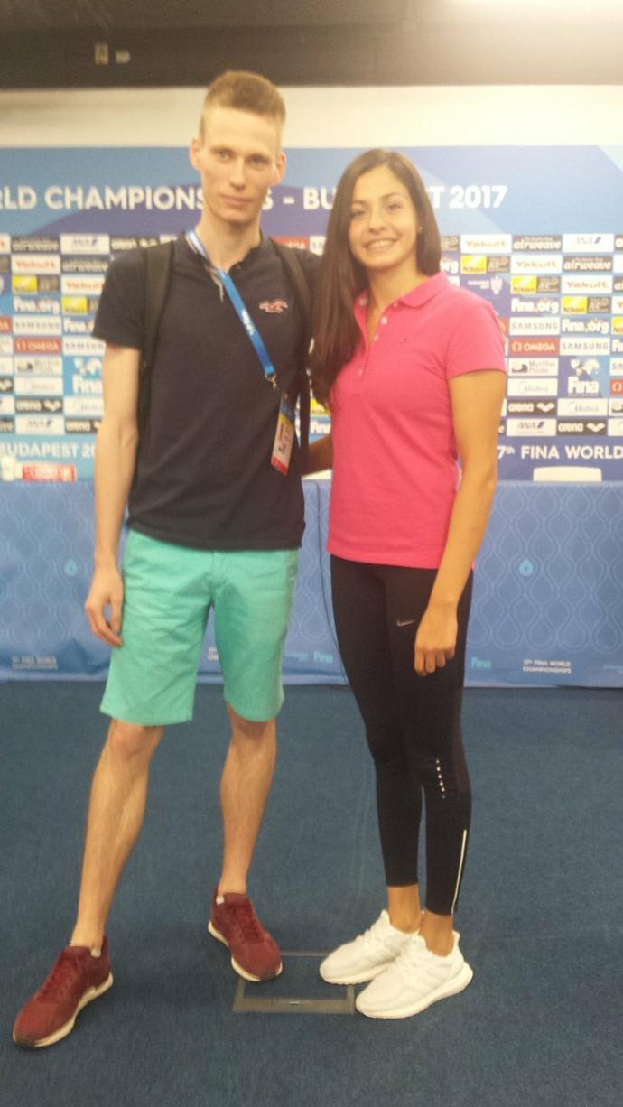 Z Yusrą Mardini spotkaliśmy się w Budapeszcie, gdzie niedawno zakończyły się mistrzostwa świata w pływaniu.
