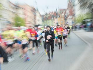 Zmarł uczestnik Maratonu Warszawskiego