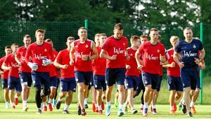 Wisla Krakow - pierwszy trening przed sezonem 2017/2018