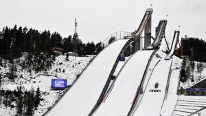 Skocznia w Lahti przed Mistrzostwami Świata