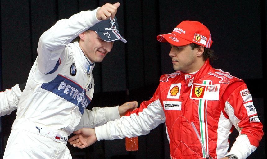 Kubica i Massa