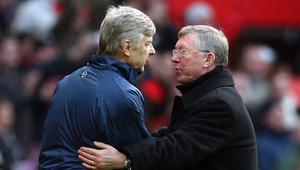 Arsene Wenger i sir Alex Ferguson
