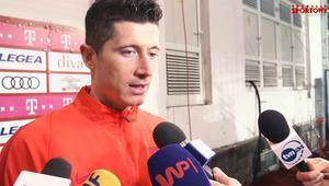 Lewandowski: Cieszę się, że strzeliłem z rzutu wolnego