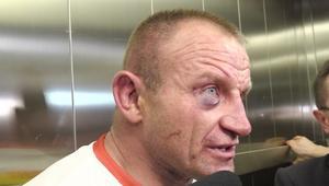 Pudzianowski: Pokazałem charakter i przetrwałem w trzeciej rundzie