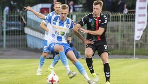 Pilka nozna. Nice I Liga. Stomil Olsztyn - GKS Tychy. 22.08.2017