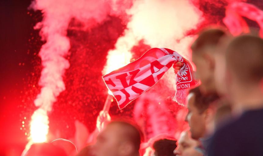 """Polskie """"obyczaje"""" na stadionie w Kopenhadze"""