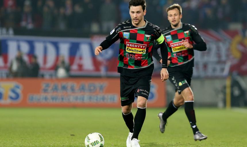 Pilka nozna. I liga. Gornik Zabrze - GKS Tychy. 03.03.2017
