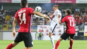 13.07.2017 FK GABALA - JAGIELLONIA BIALYSTOK DRUGA RUNDA KWALIFIKACYJNA LIGI EUROPY UEFA PILKA NOZNA
