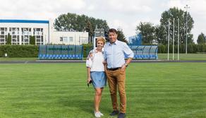 Beata i Daniel Bednarek - rodzice Jana i Filipa Bednarka