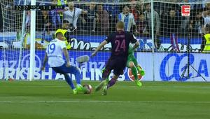 Skrót Malaga - Barcelona 2:0