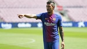 Presentation of Paulinho as new player of the PC Barcelona
