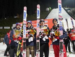Polacy wskoczyli na podium niesieni dopingiem kibiców [GALERIA]