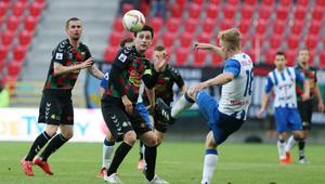 Pilka nozna. Nice I liga. GKS Tychy - Wisla Pulawy. 25.05.2017