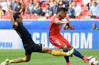 Chile uratowało remis z Australią i jest w półfinale Pucharu Konfederacji