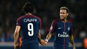Edinson Cavani i Neymar