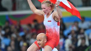 2016 Summer Olympics. Freestyle wrestling. Women. Day Two