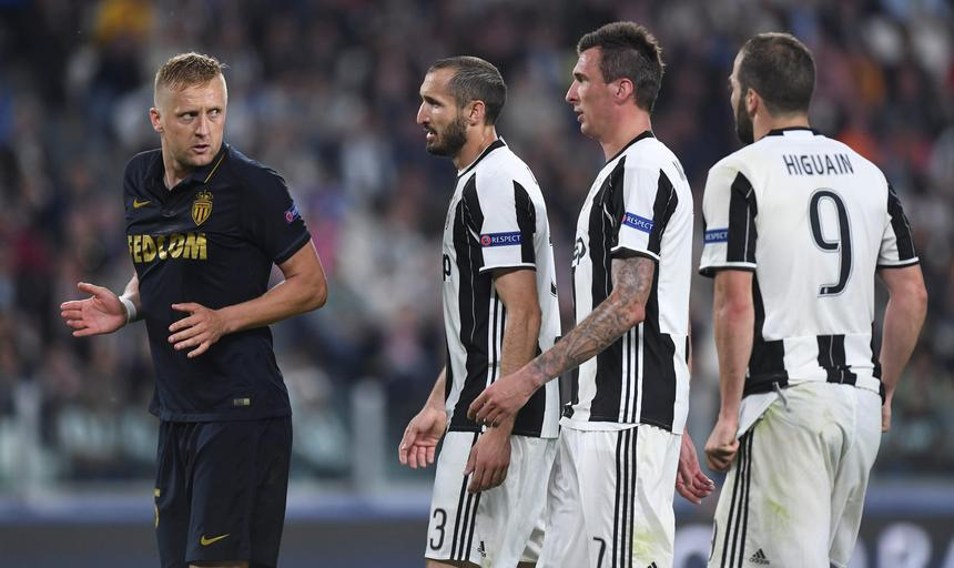 Football Soccer - Juventus v AS Monaco - UEFA Champions League