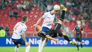 Pilka nozna. Nice I liga. GKS Tychy - Podbeskidzie Bielsko-Biala. 25.08.2017
