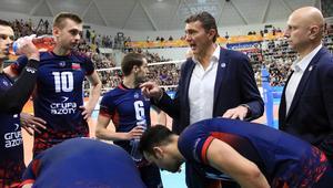 Trener Zaksy Kędzierzyn-Koźle Andrea Gardini