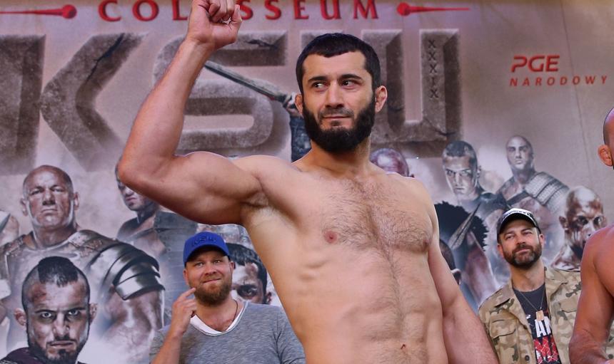 MMA. KSW. Wazenie przed KSW Colosseum. 26.05.2017