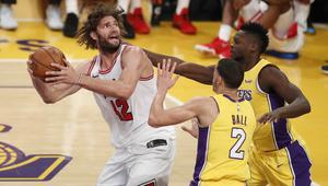 Chicago Bulls at Los Angeles Lakers