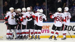 NHL: Stanley Cup Playoffs-Ottawa Senators at New York Rangers