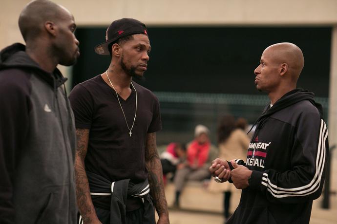 Ray Allen w styczniu 2014 roku zabrał kolegów z Miami Heat (na zdjeciu z Udonisem Haslemem i Joelem Anthonym) na wizytę w amerykańskim muzeum Holokaustu.