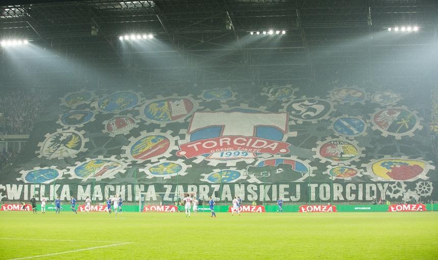 Stadion Górnika Zabrze, kibice, trybuny, Torcida