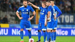 Piłkarze Miedzi Legnica