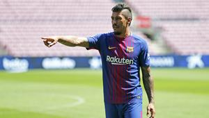 Presentation of Paulinho as new player of the PC Barcelona