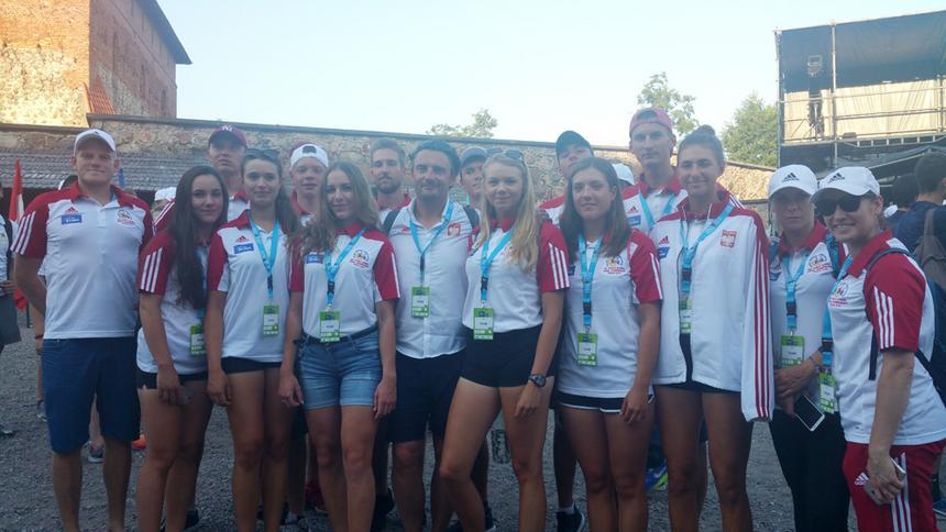 Polska na MŚ juniorów w wioślarstwie